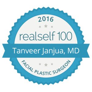 Dr. Janjua receives RealSelf 100 Award for 2nd year in a row
